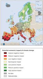 futuri cambiamenti climatici dell' Europa