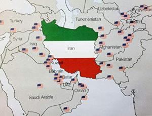 Accerchiamento USA dell'Iran